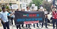 İran Büyükelçiliği Önünde Protesto Gösterisi