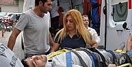 İskeleden Düşen İşçi Ağır Yaralandı