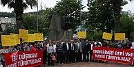 İşten Çıkarılan İşçiler Mudanya Belediyesini Protesto Etti
