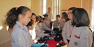 İzci Öğrencilere Yıldız Takma Ve And İçme Töreni