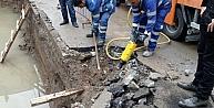 İzmirde Bir İnşaatın Temeline Su Dolması Tehlikeye Neden Oldu