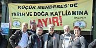 İzmirde Çevreciler ÇED Toplantısına İzin Vermedi
