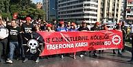 """İzmir'de """"taşerona Hayır"""" Eylemi"""