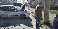 Kaldırımda Yürürken Otomobil Çarptı