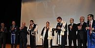 Kale Grubu Başkanı Okyay Ve Eşine Fahri Doktora Unvanı Verildi
