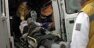 Kalp Krizi Geçiren Sürücü Ağaca Çarparak Durabildi