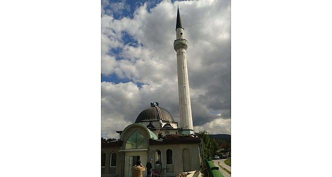 Karadağ'da Mekke-i Mükerreme Cami Tika Tarafından Onarılıyor