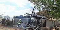 Karaman'da Ahır Yangını