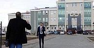 Kars Adliyesinde Şehit Savcı İçin Tören Düzenlendi