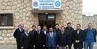 KAYMAKAM AYDIN, TCDD GAR BİNASINDA İNCELEMELERDE BULUNDU