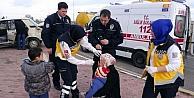 Kazadan Ufak Sıyrıklarla Kurtuldular