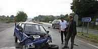 Kdz.ereğlide Zincirleme Trafik Kazası: İki Yaralı