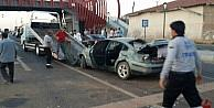 Kırşehir'de Trafik Kazası: 2 Yaralı