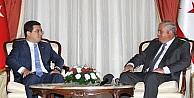 Kktc Başbakanı Yorgancıoğlu, Akdeniz Belediyeler Birliği Başkanı Tütüncü'yü Kabul Etti