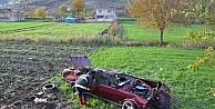 Kontrolü Kaybeden Otomobil Takla Attı: 4 Yaralı