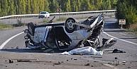 Konya'da Otomobil Takla Attı: 2 Ölü