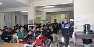 """Korkuteli'nde Lise Öğrencilerine """"trafik Ve Güvenlik"""" Semineri"""