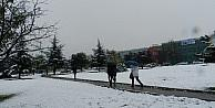 Kosova'ya Mevsimin İlk Karı Düştü