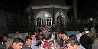 Köy Cami Gençleri Sahur Yemeği Düzenledi