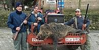 Köye İnen Yabani Domuz Tüfekle Vuruldu