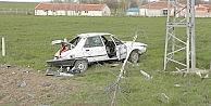 Koyun Sürüsünden Kaçan Sürücü Şarampole Yuvarlandı: 6 Yaralı