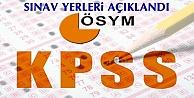 KPSS Sınav Giriş Yerleri Açıklandı TIKLA ÖĞREN