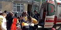 Kütahyada Evde Mahsur Kalan Kadını Polisler Kurtardı