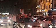 Kutlamalar Nedeniyle Beşiktaşta Trafik Kilitlendi