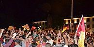 Malatyada Galatasaray Coşkusu