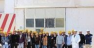 Manavgat Myo Öğrencileri Antalya Osbye Teknik Gezi