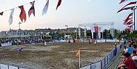 Manavgatta Plaj Futbolu Heyecanı