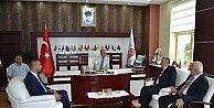 Mehmet Sarıdan Amasya Üniversitesine Ziyaret