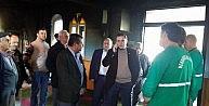 Menderes'te Yanan Camiyi Belediye Yenileyecek