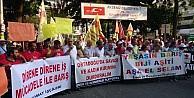 Mersin'de 1 Eylül Dünya Barış Günü Yürüyüşü