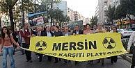 Mersinde Çernobil Yürüyüşü