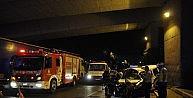Meslektaşlarını Hastaneye Götüren Polis Aracı Kaza Yaptı : 1 Şehit 2 Yaralı