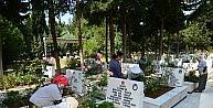 Mezarlıklar Bayram Ziyaretleri İçin Hazırlandı