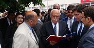 MHPli İl Genel Meclis Üyesi Bakan Avcıya Dosya Sundu