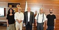Milletvekili Oluç, ATSO Başkanı Davut Çetin'i Ziyaret Etti