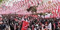 Milli İttifak Erzurumda Miting Yaptı