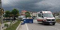 Minibüsün Çarptığı Bisiklet Sürücüsü Hayatını Kaybetti