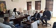 Müsiad Mardin Şubesinden Büyükşehir Belediyesine Ziyaret