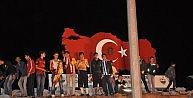 Muşta Galatasarayın Galibiyet Sevinci