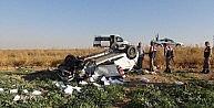 Nusaybinde Trafik Kazası: 5 Yaralı