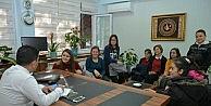 Öğrencilerden Yunusemre Belediyesi'ne Ziyaret