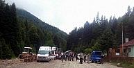 Ormanda Yaralanan Gencin Yardımına Ambulans Helikopter Yetişti