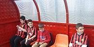 Otistik Çocuklar Eskişehirsporlu Futbolcularla Antrenman Yaptı