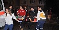 Otomobil Halk Otobüsüne Çarpti, 4 Yaralı