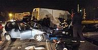 (özel Haber) Alkollü Sürücü Kazaya Neden Oldu: 6 Yaralı
