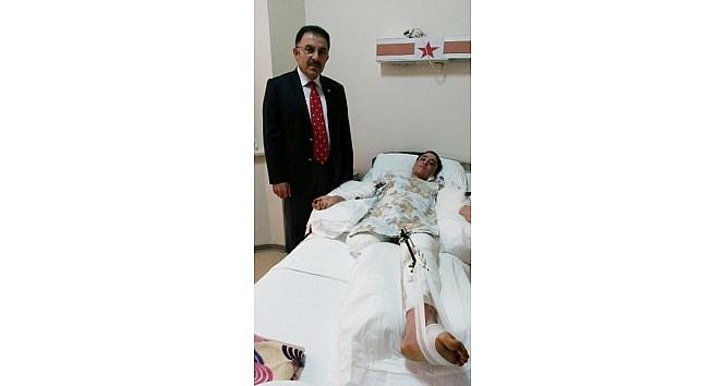 (özel Haber) Koca Şiddeti Mağduru Anneye Yozgat Ak Parti Milletvekili Sahip Çikti